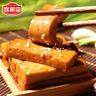 鑫佳宝豆腐干豆干500g