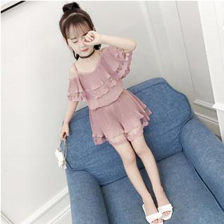 韩版时尚儿童夏季童装