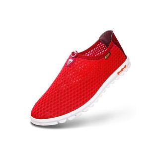 夏季网鞋透气轻便懒人鞋