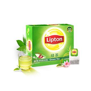 立顿绿茶包优选100包