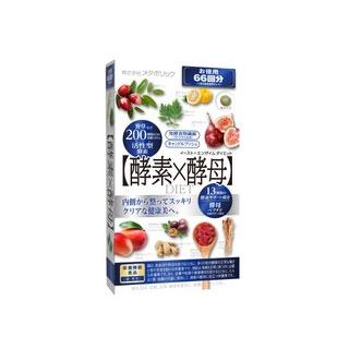 日本酵素谷物66回132粒