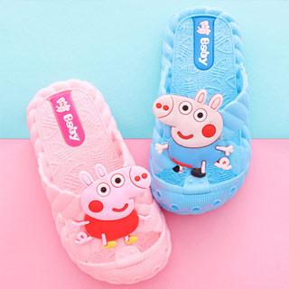小猪佩奇卡通防滑儿童拖鞋