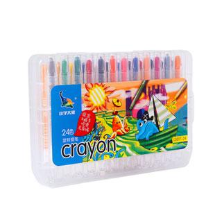 乐普升儿童旋转蜡笔24色