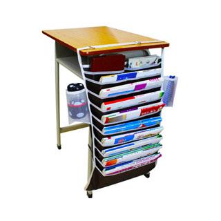 多功能课桌挂书袋