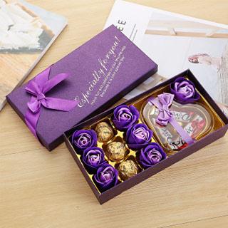 德芙巧克力七夕创意礼盒