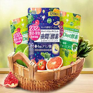 日本进口232种水果酵素3袋