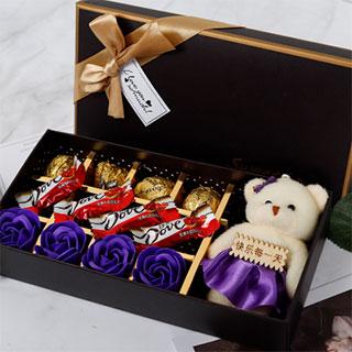 德芙巧克力七夕节创意礼盒