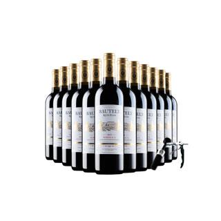 进口红酒干红葡萄酒12支