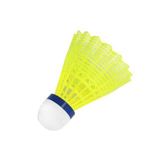 6只装正品博卡塑料羽毛球