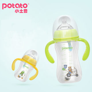 小土豆婴儿宽口径PP奶瓶