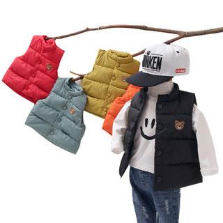 0-3-5岁儿童外穿棉马甲
