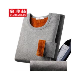 俞兆林加绒加厚保暖内衣套装