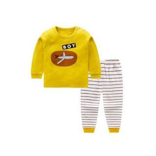宝宝纯棉儿童保暖内衣套装