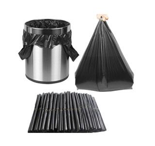 黑色加厚垃圾袋10卷100只