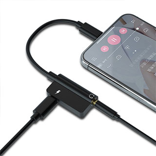 通用四合一听歌充电转接头