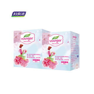 妇炎洁私处湿纸巾3盒*18片