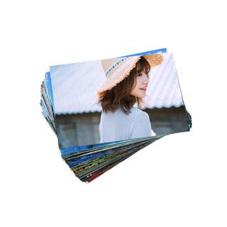 拍50件4寸绒面冲印塑封送相册
