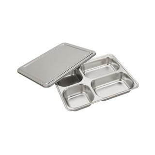 304不锈钢餐盘方形