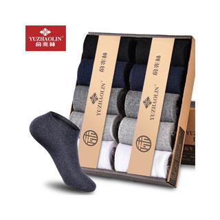 俞兆林男士棉袜10双