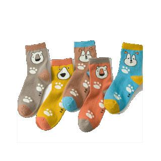 儿童纯棉季款中筒袜