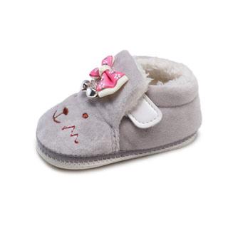 加绒男女宝宝鞋学步鞋加厚