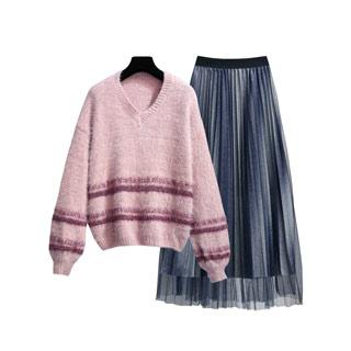法式复古超仙两件套装裙