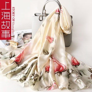 上海故事时尚丝巾