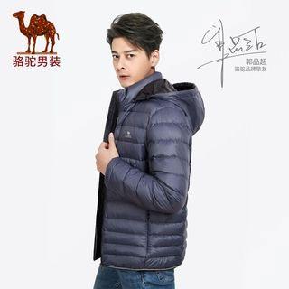 骆驼超暖轻尚修身羽绒衣