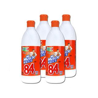 威猛先生84消毒液4瓶装