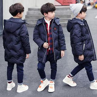 新款韩版男童羽绒棉服