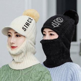 秋冬季加绒加厚保暖帽子