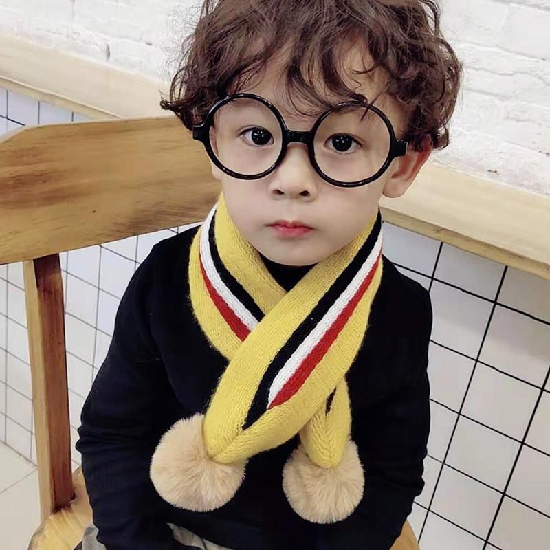 韩版秋冬儿童卡通围巾
