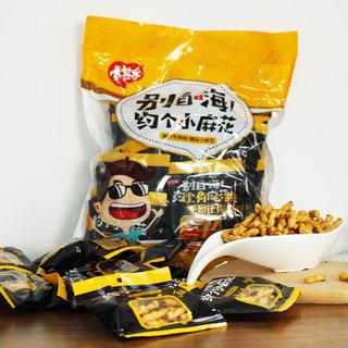 网红香酥小麻花500g