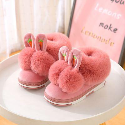 寶寶室內防滑棉拖鞋寶