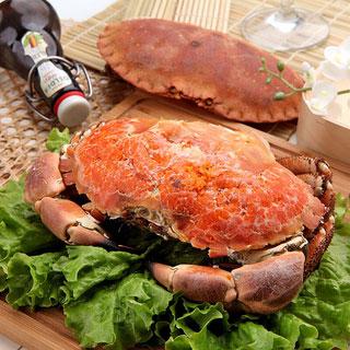 鮮活熟凍包郵面包蟹