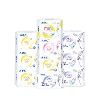 ABC卫生巾茶树日夜用10包组合