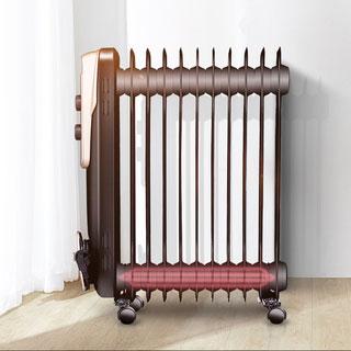 美的油汀11片暖风烤火取暖器