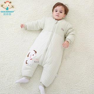 加厚分腿儿童纯棉睡袋