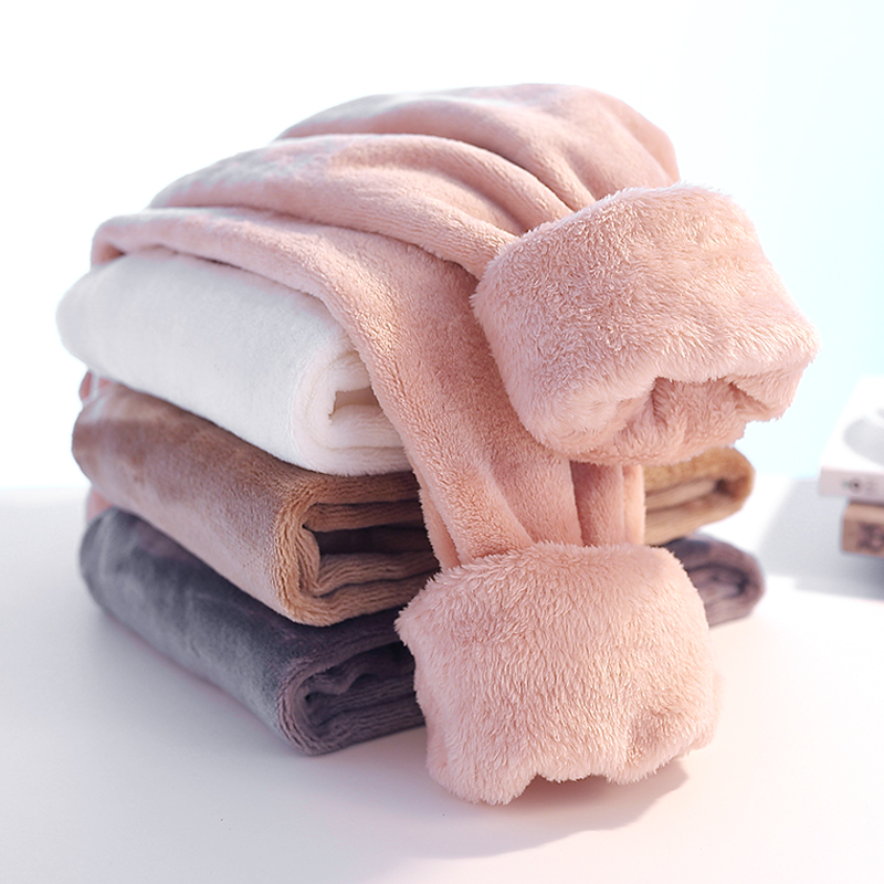 有品家儿童珊瑚绒暖暖裤