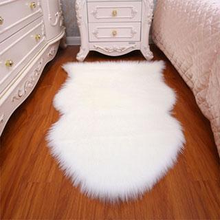 现代简约床边椭圆形地毯