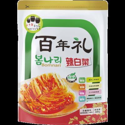 韩式辣白菜泡菜500g*3