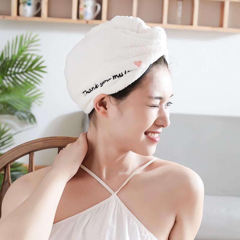 超强吸水速干浴帽干发巾