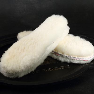 皮毛一体加厚羊毛鞋垫