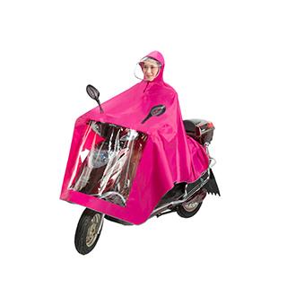 电动车加大加厚雨衣