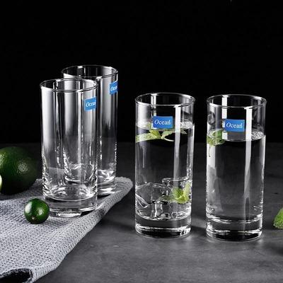进口玻璃杯子4只装