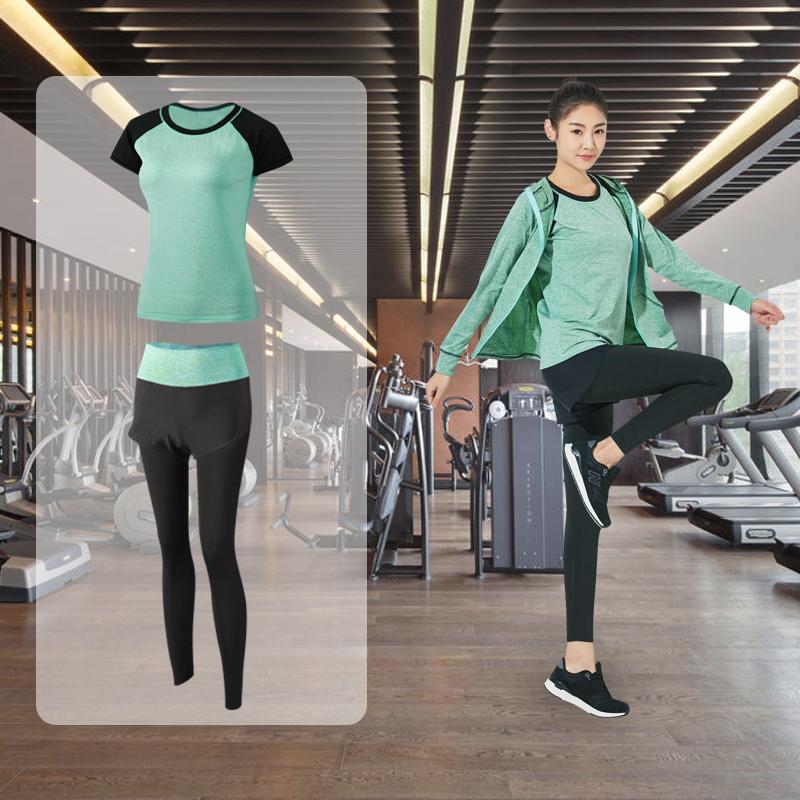 瑜伽服运动套装速干衣