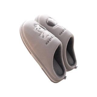 居家厚底情侣包跟棉拖鞋