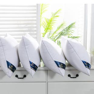 羽丝绒枕头全棉透气枕芯
