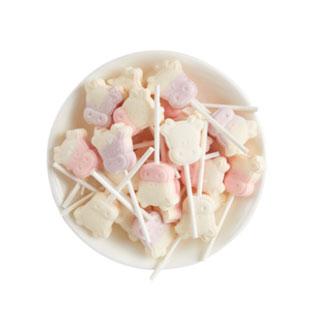 創意可愛牛頭奶棒糖約30支