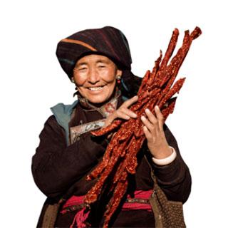 正宗西藏風干牦牛肉干500g